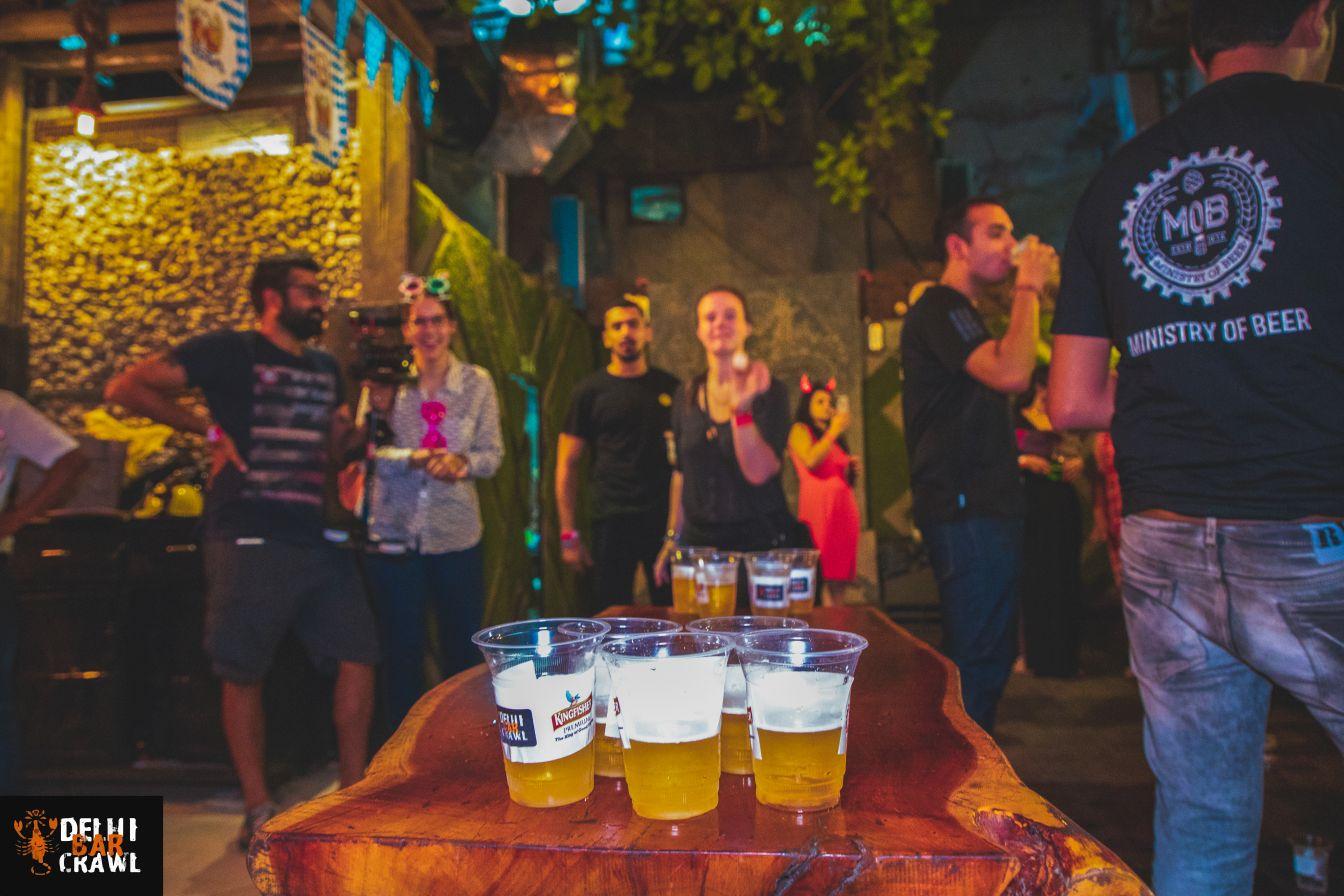 Delhi Bar Crawl